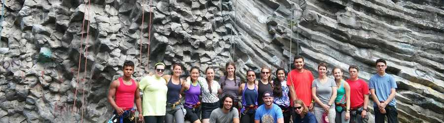 Boquete Guided Rock Climbing