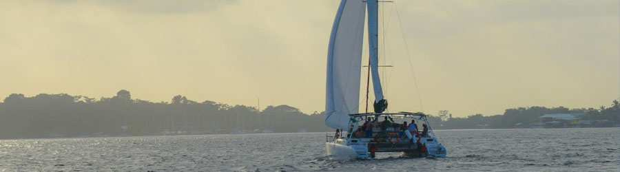 Bocas del Toro Catamaran Private Sailing Charter