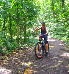 Cocoa Plantation Mountain Bike Tour